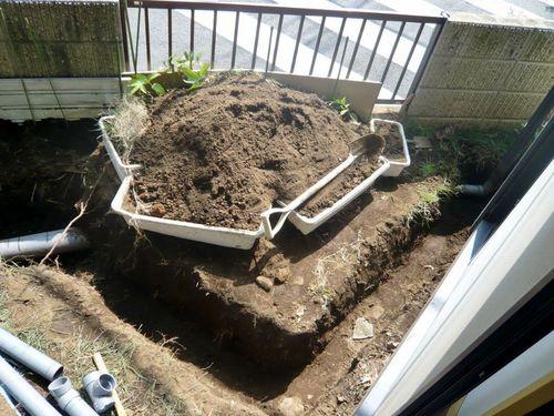 雨水管工事1