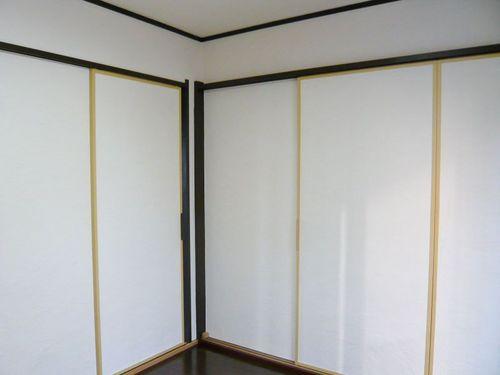 壁、戸、塗装済み