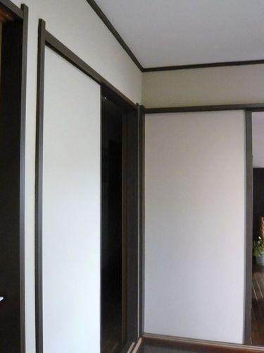 柱・枠・縁の塗装