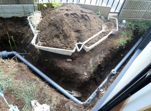 雨水管工事2